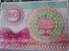 60 th birthday card