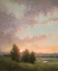 Image result for oil painting romanticist european dawn foggy sea