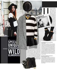 """""""BW world."""" by minnie-me ❤ liked on Polyvore"""