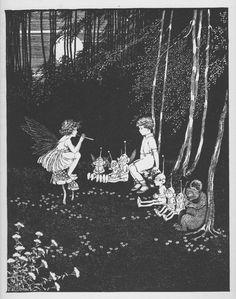 Ida Rentoul Outhwaite 'The Concert' illustration, 1931 | eBay