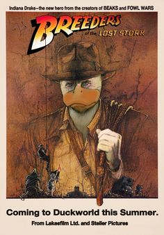 Howard the Duck's Breeders of the Lost Stork