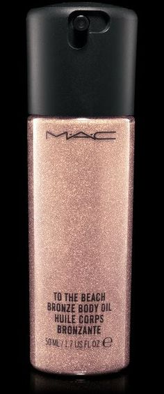 M·A·C Cosmetics Bronzing Body Oil, To the Beach.
