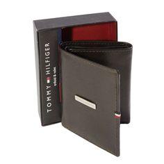Tommy Hilfiger Men's Trifold Genuine Wallet