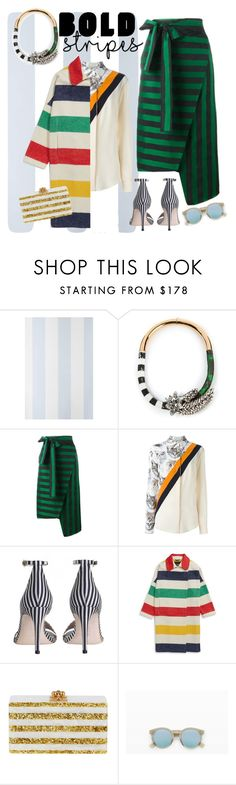 """Untitled #584"" by tyesharslay ❤ liked on Polyvore featuring Anthropologie, Shourouk, Rochas, STELLA McCARTNEY, Zimmermann, Hudson's Bay Company, Edie Parker and Club Monaco"