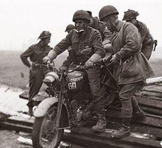 BSA M20 crossing