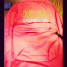 Have backpacks for all of your new members on Bid Day!