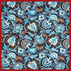 Blue Leaves Assorted Pre-Cut Twill Cotton Quality Quilt Fabric Quarter Tissue Bundle Charm Sewing  Textile Cloth 50*150CM! #Affiliate