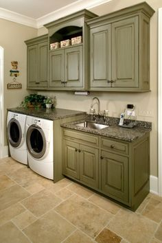 Laundry Room.....I would do laundry all day all night...sigh!