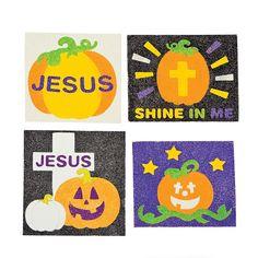 Christian Pumpkin Sand Art Craft Kit - OrientalTrading.com