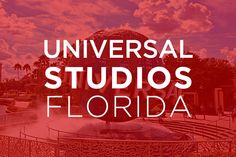 Go behind the scenes, beyond the screen, and jump right into the action of your favorite movies at Universal Studios, the world's premier movie and TV based theme park.