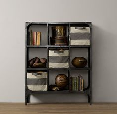 Foundry Metal Cubby System - Triple, comes in multiple sizes