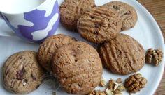 Fotorecept: Špaldové cookies s kúskami čokolády