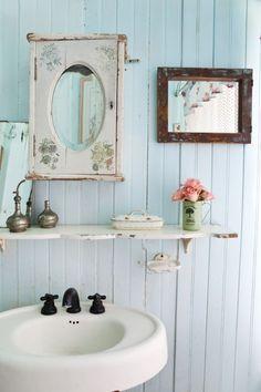 Romantische inrichting van de badkamer - Makeover.nl