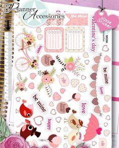Valentinstag Sticker Bogen Online  #happymail #snailmail #snailmailideas #mailart #sendmoremail #penpalsaroundtheworld #penpals#snailmailrevival#letter #penpal #stationery #snailmail #washitape #penpalswanted #kawaii #letter #girl #cute #vintage #pink #girly #filofax #filofaxing #planneraccessories #dawanda #sticker #scrapbook#erincondrenliveplanner#erincondrenplanner by emelysplannershop