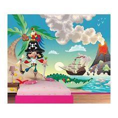 Papier peint géant XXL pour une déco mural de chambre d'enfant garçon ou fille. Papier peint géant de décoration intérieur pas cher.