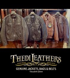 Thedi Leathers: cafe racer collection