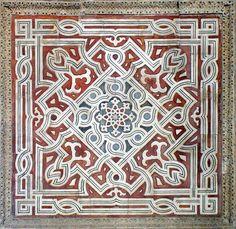Mamluk period in Egypt Islamic Patterns, Geometric Patterns, Islamic Architecture, Art And Architecture, Arabesque, Wall Patterns, Quilt Patterns, Oriental Pattern, Mosques