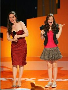 Anna Popplewell and Georgie Henley, two of my favorite actresses. you can really see the difference between them in their ages and style, converse versus heels