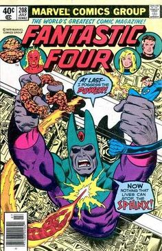 Fantastic Four #208 - The Power of the Sphinx!
