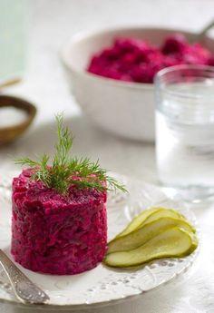 Финский свекольный салат. Beetroot salad (Finnish).
