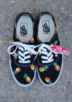 Pineapple vans.