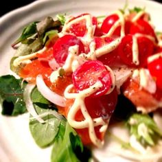 新タマが食べたかったので♥ - 5件のもぐもぐ - サーモンサラダ by mamarakudan