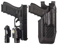 Blackhawk Epoch Level 3 Light Bearing Duty Holster at the 2013 SHOT Show