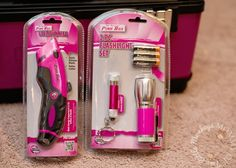 The Original Pink Box Tools from Sears Pink Love, Pretty In Pink, Pink Purple, Hot Pink, Tools For Women, Pink Stuff, Tool Belt, Pink Hat, Everything Pink