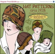 Sew 4 Vintage 1920s Downton Abbey FLAPPER by eVINTAGEpatterns, $3.99
