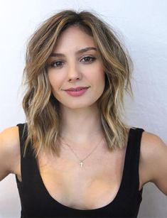 Choppy Layered Shoulder Length Hair