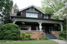 Craftsman bungalow-favorite home style ever