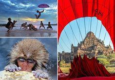 """As fotografias eternizam grandes momentos, sejam eles tristes ou felizes, calmos ou chocantes. O prêmio anualIntrepid Travel trouxe imagens incrivelmente belas para a edição de 2015, concebendo oprimeiro lugar para a foto deSujan Sarkar, na qual crianças brincam com um guarda-chuva num rio em Cooch Behar, na Índia. Intitulada """"Subtle Whimsy and Moody Colours"""" (""""Fantasia Sutil e Cores Alegres"""", em tradução livre), a foto teve uma competição acirrada junto com o registro feito porScott…"""