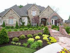 Garden Ideas New England this crisp-looking front yard shows how effective a simple, clean