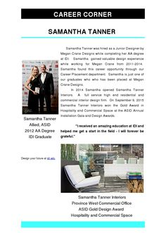 Samantha Tanner - ASID Gold Design Award in Hospitality and Commercial Space