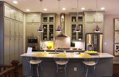 Beautiful kitchen in the Aurora Model at Brambleton by Miller & Smith
