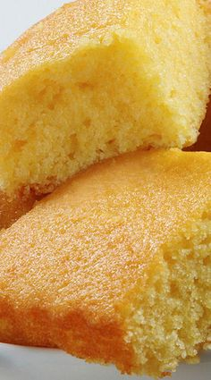 Sweet Buttermilk Cornbread ~ Scrumptious and irresistibly moist sweet buttermilk cornbread recipe everyone will LOVE! Perfect for summer barbecues and cookouts like the 4th of July!
