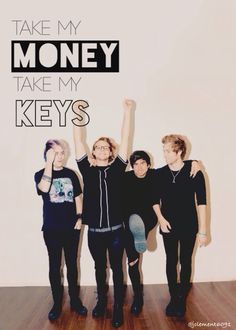 Money-5sos (requested) by @jclement6091