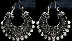 Glitters Ramleela Antique Earrings Image