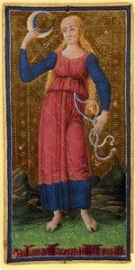 ☤alquimia - The Moon card from the Visconti-Sforza Tarot deck. Le Bateleur, Tarot Significado, The Moon Tarot Card, Intuition, Tarot Card Meanings, Strange History, Tarot Readers, Major Arcana, Medieval Art