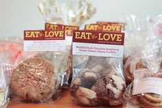 Good idea of bake sale packaging. San-Francisco-Blogger-Bake-Sale-Eat-The-Love-Irvin-Lin-950-3