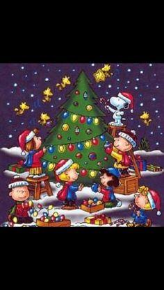 Christmas - Charlie Brown Snoopy & The Peanuts Gang Christmas Scenes, Christmas Art, Winter Christmas, Vintage Christmas, Christmas Graphics, Funny Christmas, Beautiful Christmas, Peanuts Christmas, Charlie Brown Christmas