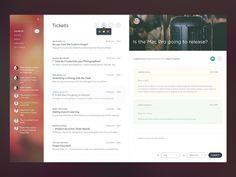 Email Application Design Inspiration — Muzli -Design Inspiration