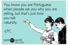 Portuguese speaking loud - Calma Sacana!