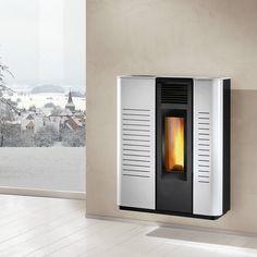 Pelletkachel Agila A Evo Caminetti Montegrappa Evo, Home Appliances, Design, House Appliances, Appliances