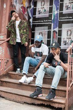 Hat: Gold Finger shirt: Seinfeld Gold( Gold Finger) Jeans : H&M  Sneakers : Vans Sk8 low, Air Jordan 6. photographer : Uptownkid Location : Soho , NYhttp://goldfingercomingsoon.bigcartel.com/  Instagram : @goldfingerclothingline