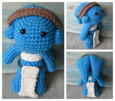 Amigurumi Twi'lek from Star Wars crochet pattern