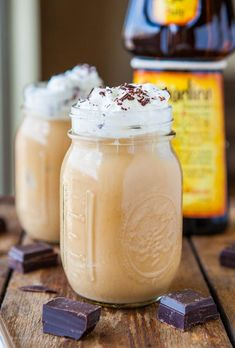 Creamy Boozy Iced Coffee (vegan, GF) - Refreshing, creamy & make in 1 minute when you need a fast fix! averiecooks.com