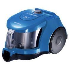"Samsung SC-4355B Vacuum / 1800 watts / blue metallic Chamber / Twin system, HEPA filter, bagless type of package ""Bagless Vacuum Cleaner"