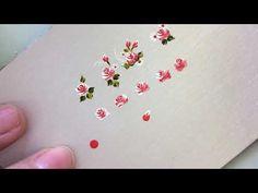 passo a passo de rosas - YouTube