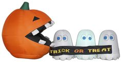 Large inflatable Halloween Decorations for your yard! Outdoor inflatable Halloween decorations. Have fun decorating your lawn with scary inflatables!